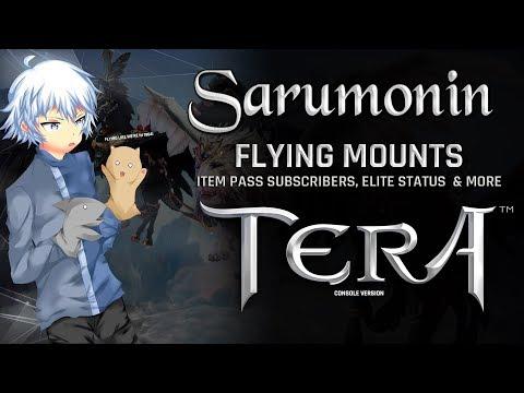 TERA [PS4/XB1] | Flying Mounts Released, Elite Status Mounts, Item Pass & More!