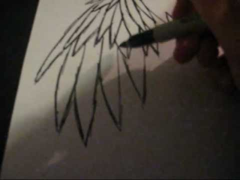 How I Draw Emo Angel Wings