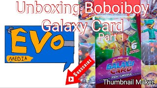 Unboxing Boboiboy Galaxy Videos 9videostv