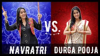 Navratri VS. Durga Pooja 🕯️ | Rickshawali