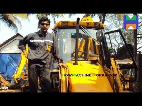 How to Drive n Operate a JCB BHL Machine (Must Watch) ✔