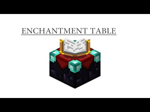 How to Craft: Enchantment Table MINECRAFT