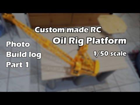CVP - Custom made RC Oil Rig Platform by CVP - Photo Build Log Part1