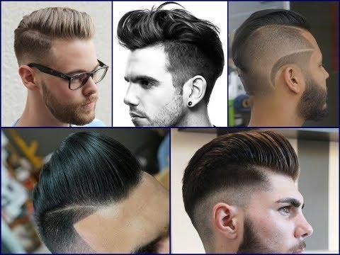 Trendy Pompadour Haircut Ideas for Mens 2018
