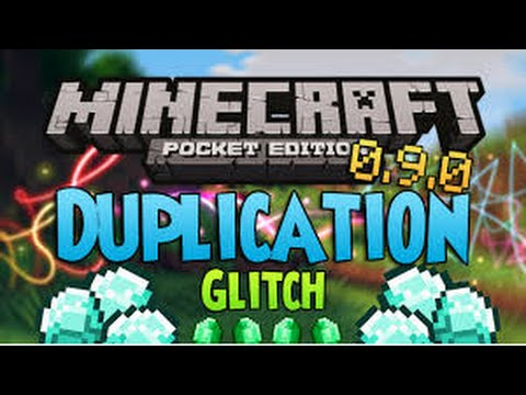 Minecraft PE [0.9.0/0.9.5]- Diamond Duplication Glitch