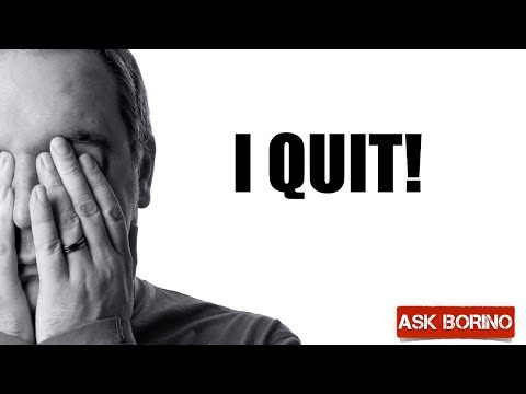 QUIT REAL ESTATE - Borino Coaching For Agents