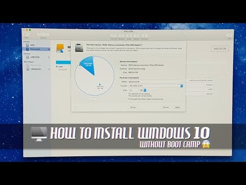 How to Install Windows 10 without Boot Camp on Older Mac Pro via USB