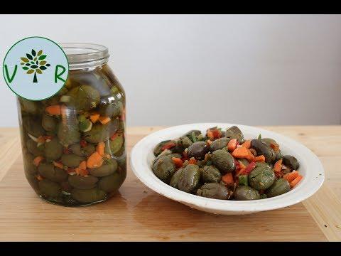 Olives vertes cassées | Comment les préparer et conserver