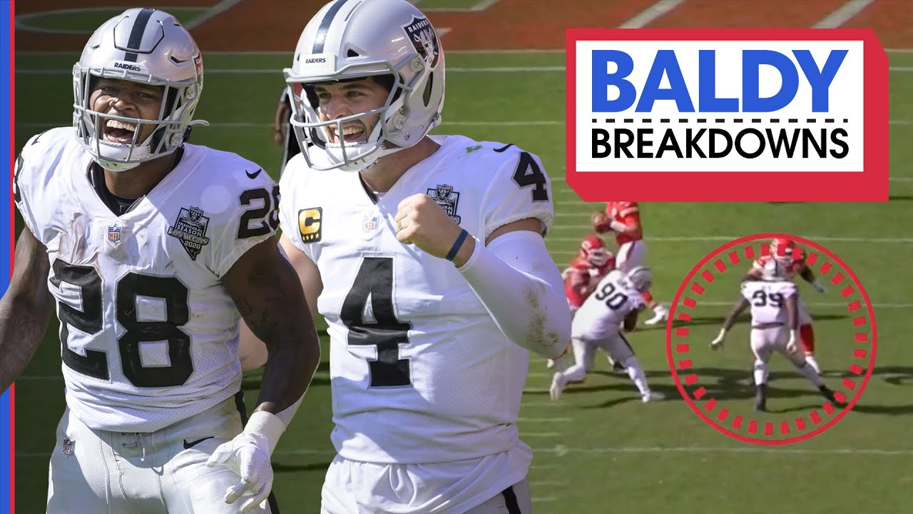 How the Raiders SHOCKED the Chiefs at Arrowhead | Baldy Breakdowns