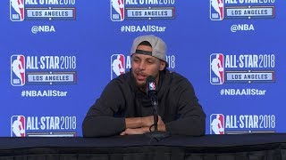 Stephen Curry Postgame Press Conference / NBA All-Star Game 2018