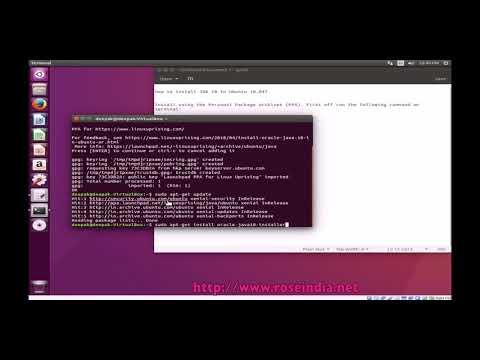 How to install JDK 10 in Ubuntu 18.04?