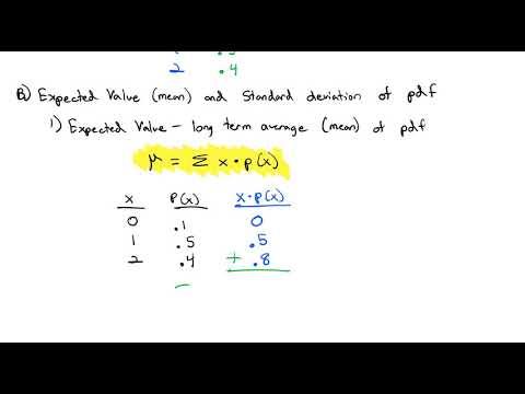 2.4 Discrete Probabilty Distributions