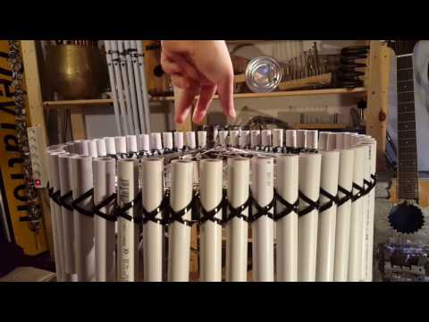 The Bicycle Wheel Pan Flute