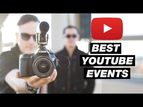 7 Benefits of Attending Live Events and the Best YouTube Conferences in 2017