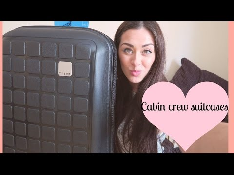 WHAT LUGGAGE TO GET AS CABIN CREW ?! | Tasha Parker