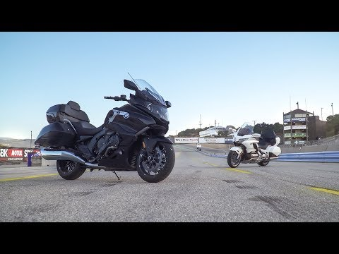 2018 Honda Gold Wing Tour vs. 2018 BMW K1600 Grand America - On Two Wheels