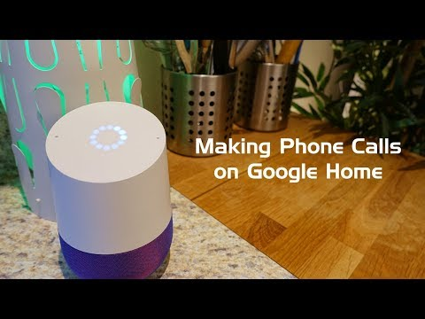 How to Make Free Phone Calls on Google Home!