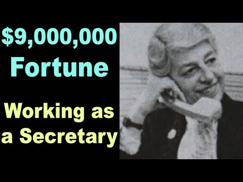 How this 96-year-old Secretary grew a $9,000,000 Fortune