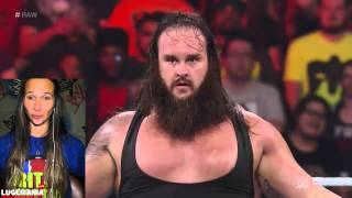 WWE Raw 8/24/15 Wyatts Family New Member Debut