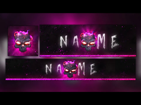 FREE Skull Gaming/Clan Logo Revamp Template [Header,Banner,Avatar] PSD 2018