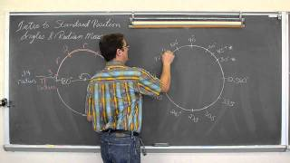 Standard Position Angles Pt2 Converting Degrees And Radians