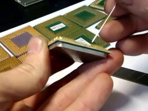 Fixing a Bent or Broken Pins on a CPU