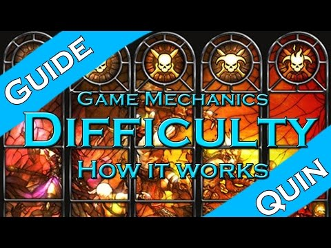 Diablo 3: Difficulty guide! (how to farm efficiently)