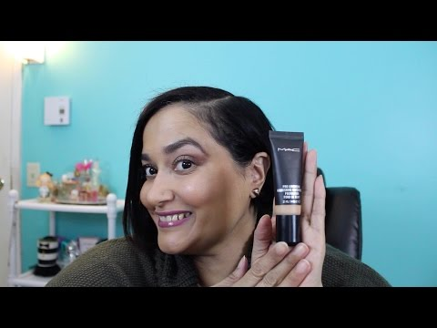 MAC Prolongwear Nourishing Waterproof Foundation NC42| First Impressions, Demo and Review