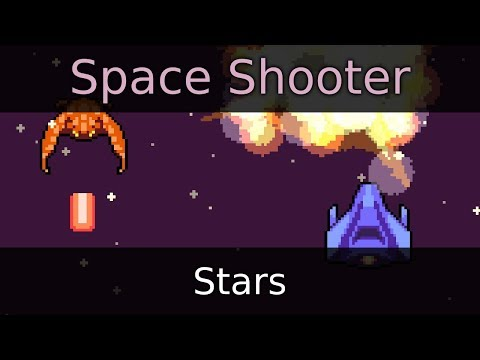 Make a Space Shooter Game in Godot - Stars (E04)