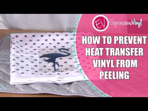 Tips on How to Prevent Heat Transfer Vinyl from Peeling