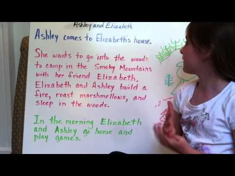 Elizabeth  - How to Write a Story (6 years old)
