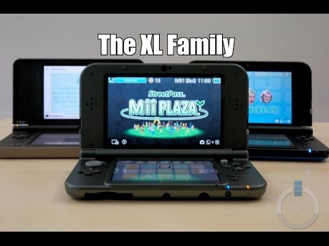 New 3DS XL vs Old 3DS XL vs DSi XL