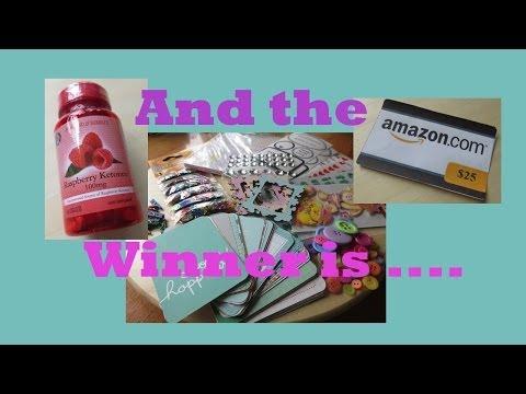 500 subscriber giveaway WINNER!!!!!