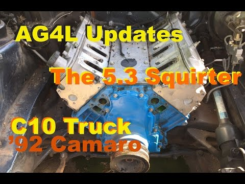 AG4L Updates '92 Camaro, Squirter and the C10 Radiator Mount - May 2015