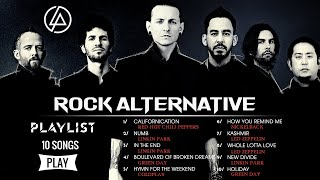 Linkin Park, Red Hot Chili Peppers, Green Day, Nickelback - All Time Favorite Alternative Rock Songs