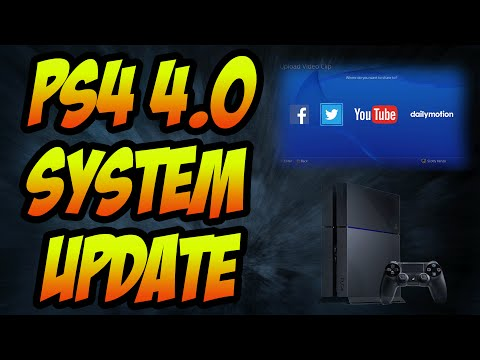 Playstation 4 System Update 4.0 - CHANGE PSN ID, MORE PS2 GAMES, CUSTOM BACKGROUNDS AND MORE!