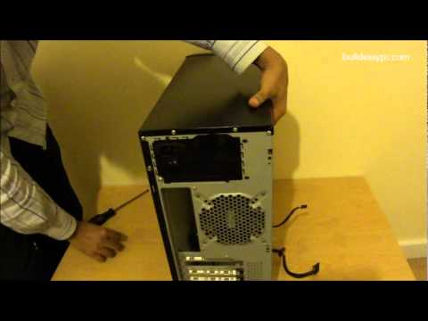 Build Your Own PC: Step 1 - How to install a Power Supply Unit