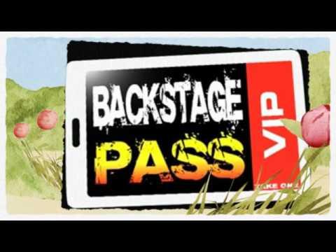 Free Backstage Passes