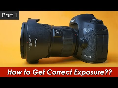 How to Get Correct Exposure: Camera Metering Modes (Hindi)