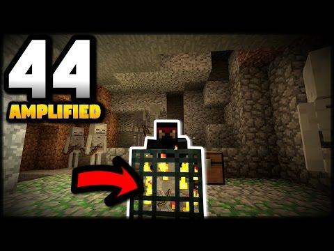 Minecraft CRAZY SKELETON MOB SPAWNER! Episode 44 PS4 Edition Survival Gameplay