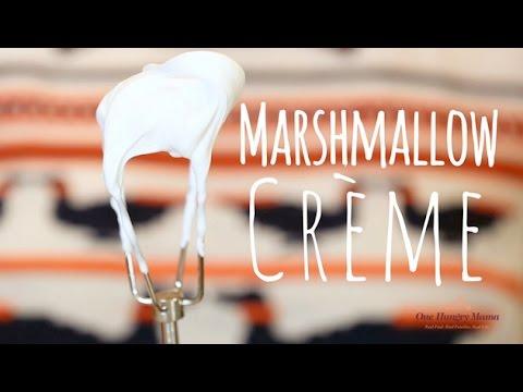 Homemade Marshmallow Creme recipe   One Hungry Mama