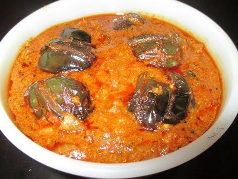 Ennai Kathirikkai Kara kulambu or Brinjal Kara Kuzhambu (in tamil)