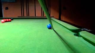 Snooker I.q. การแทงลูกข้างชิ่ง