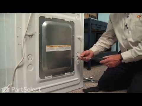 Washing Machine Repair - Replacing the Drive Pulley (GE Part #WH07X10016)