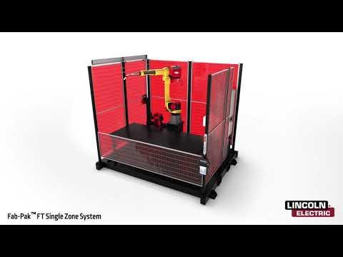 Fab-Pak FT SS Robotic Welding Cell