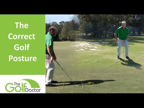 How To Achieve The Correct Golf Posture For Your Golf Swing