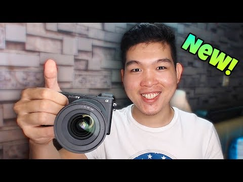 Unboxing នៅ Camera ថ្មី - Sony A6500