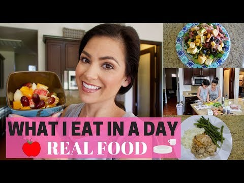 WHAT I EAT IN A DAY 2018 || REAL MOM, REAL FOOD!!!