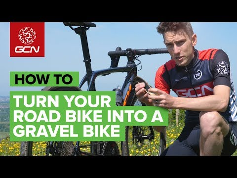 Turn Your Road Bike Into A Gravel Bike | GCN How To