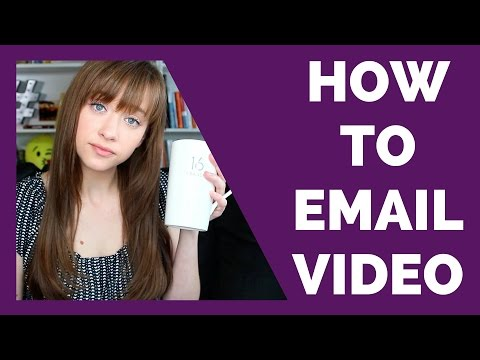 How Should I Email Someone My Video?